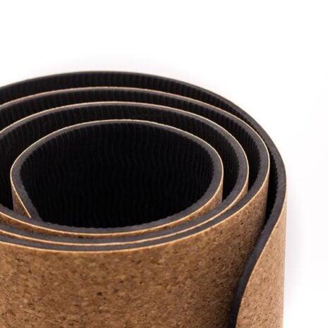 yogamåtte kork vegansk woodlook