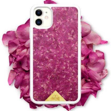 iphone 11 mobcover hvid roser