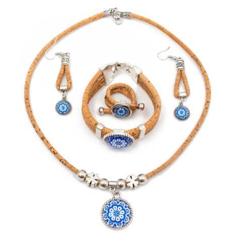 smykkesæt-blåt-vegansk-portugal