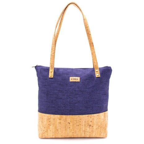 håndtaske korklæder tekstil vegansk