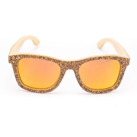 Solbriller kork bambus