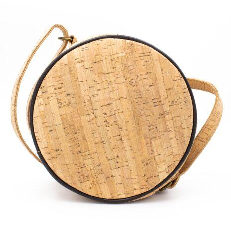 håndtaske rund korklæder vegansk (6)