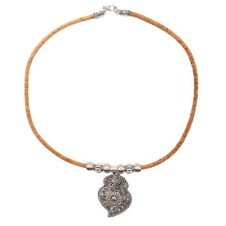 halskæde-korksnor-hjerte-sølv-v3