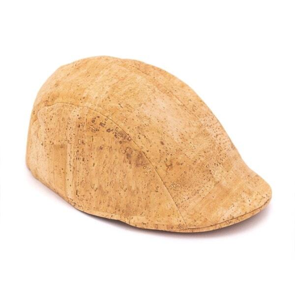 Flat cap korklæder