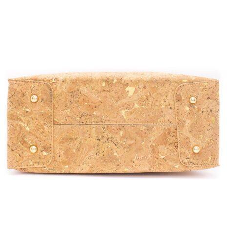 håndtaske korklæder guld sølv (4)