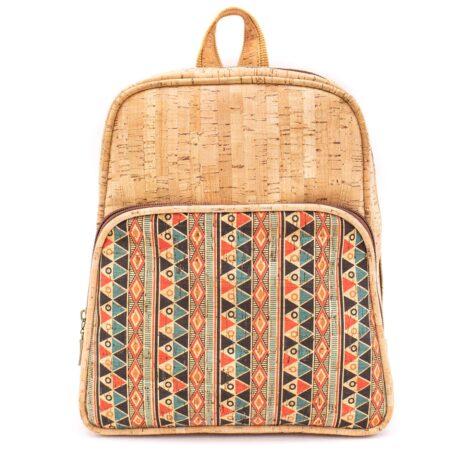 Vegansk rygsæk lavet af kork