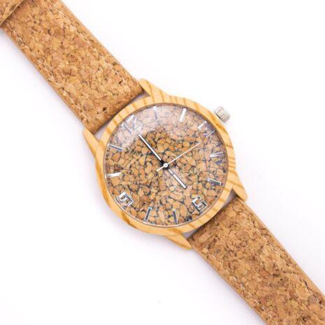 Armbåndsur træ kork vegansk woodlook (6)