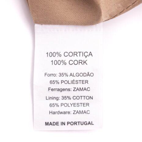 Håndtaske i 100% kork