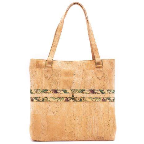 Vegansk håndtaske lavet af korklæder (1)