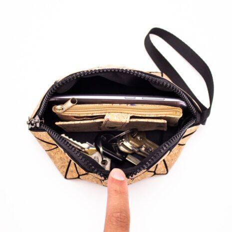 makeup taske vegansk korklæder 2