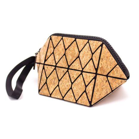makeup taske vegansk korklæder